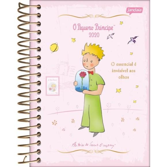 Agenda Diária 2020 O Pequeno Príncipe Rosa - Jandaia