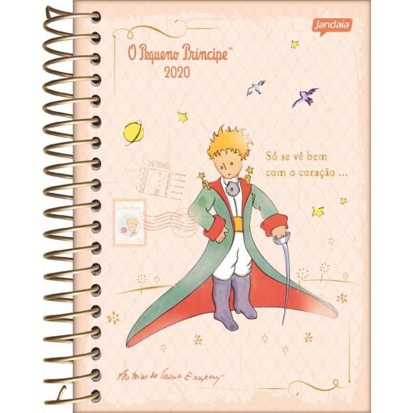 Agenda Diária 2020 O Pequeno Príncipe Salmão - Jandaia