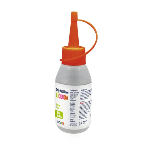 Cola de Silicone Liquida 100ml - LeoArte