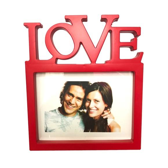 Porta Retrato Love Vermelho