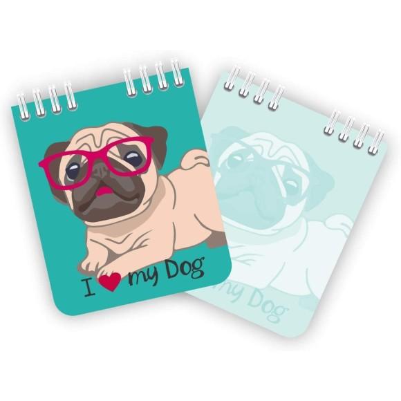 Bloco de Anotações Pet Cachorro - Redoma
