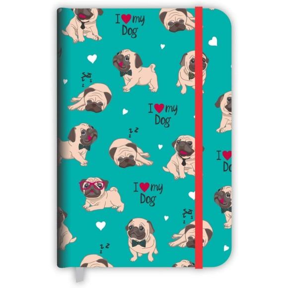 Caderneta Média Pet Cachorro - Redoma